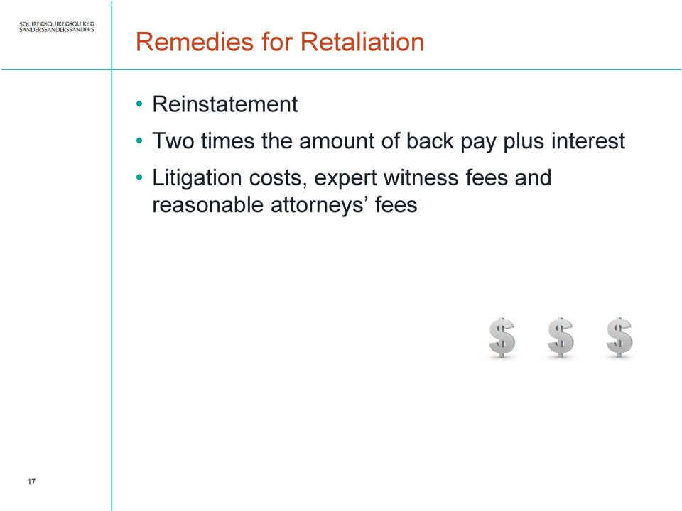 interest Litigation costs, expert
