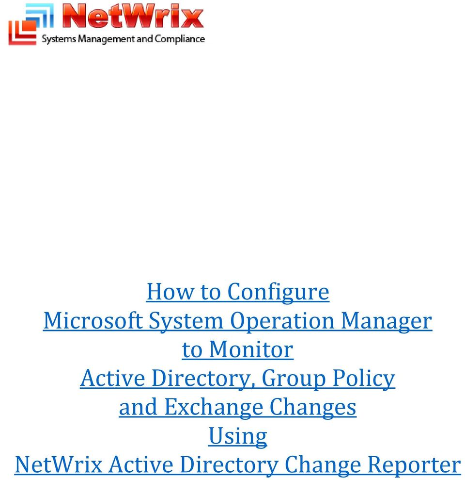 Directory, Group Policy and Exchange