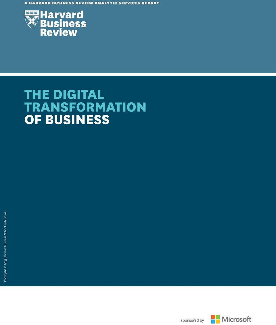 TRANSFORMATION OF BUSINESS Copyright