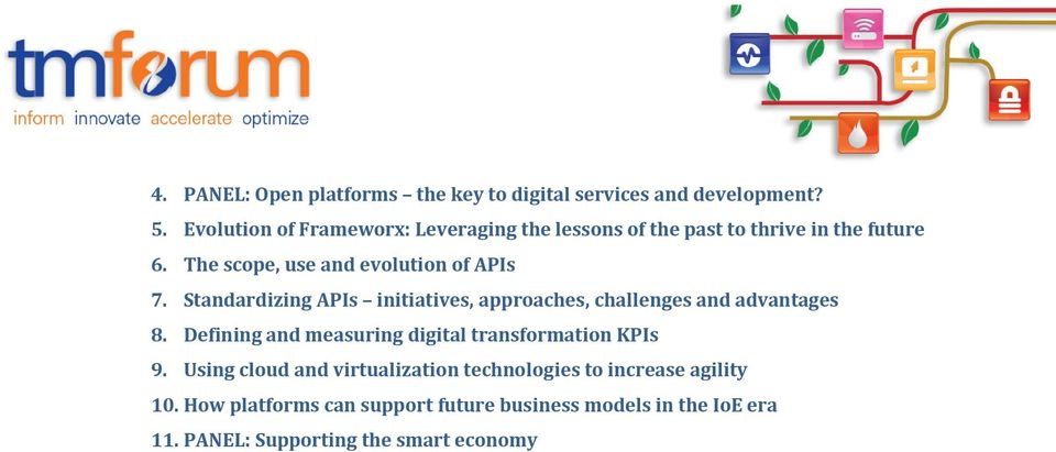 Standardizing APIs initiatives, approaches, challenges and advantages 8.