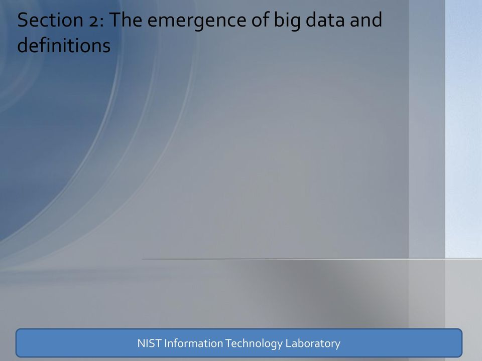 and definitions NIST
