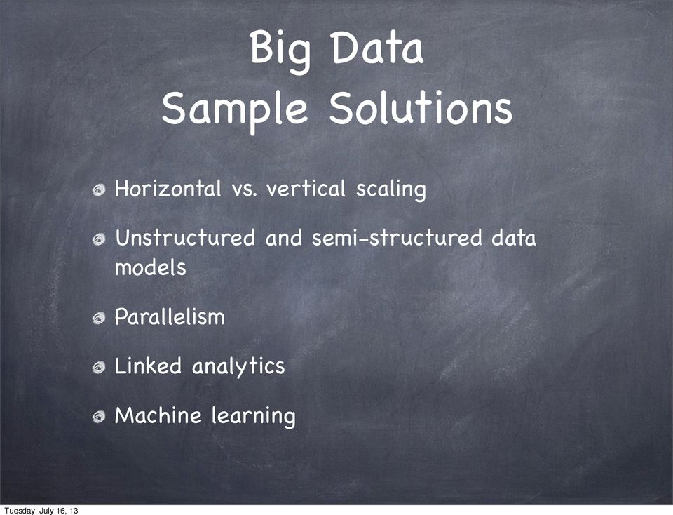 and semi-structured data models