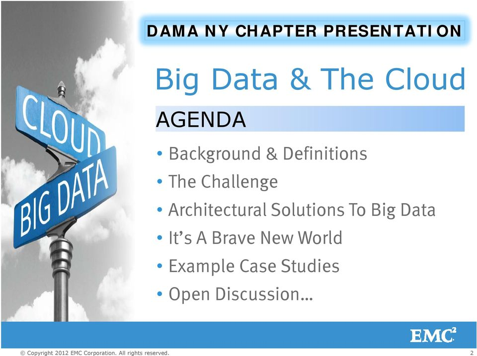 Challenge Architectural t Solutions To Big Data