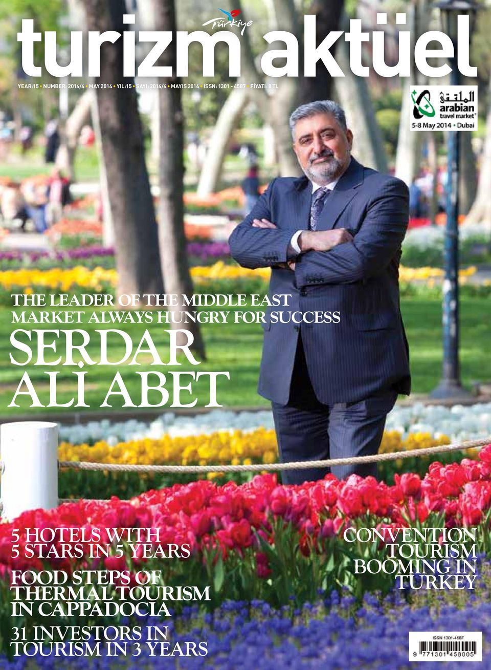SUCCESS SERDAR ALİ ABET 5 HOTELS WITH 5 STARS IN 5 YEARS FOOD STEPS OF THERMAL