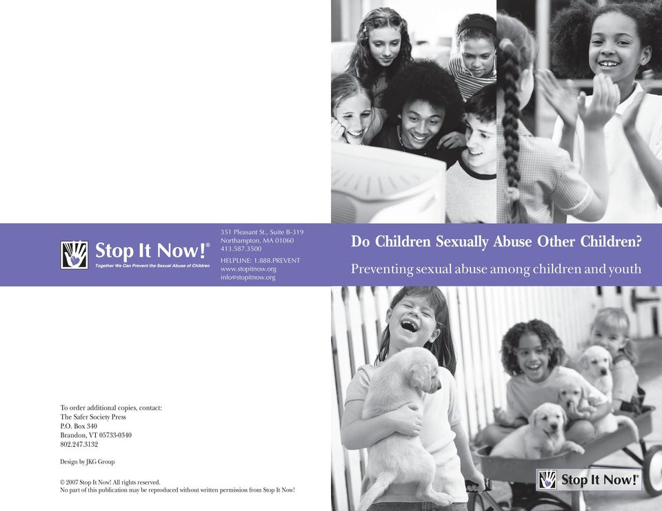 org Do Children Sexually Abuse Other Children?