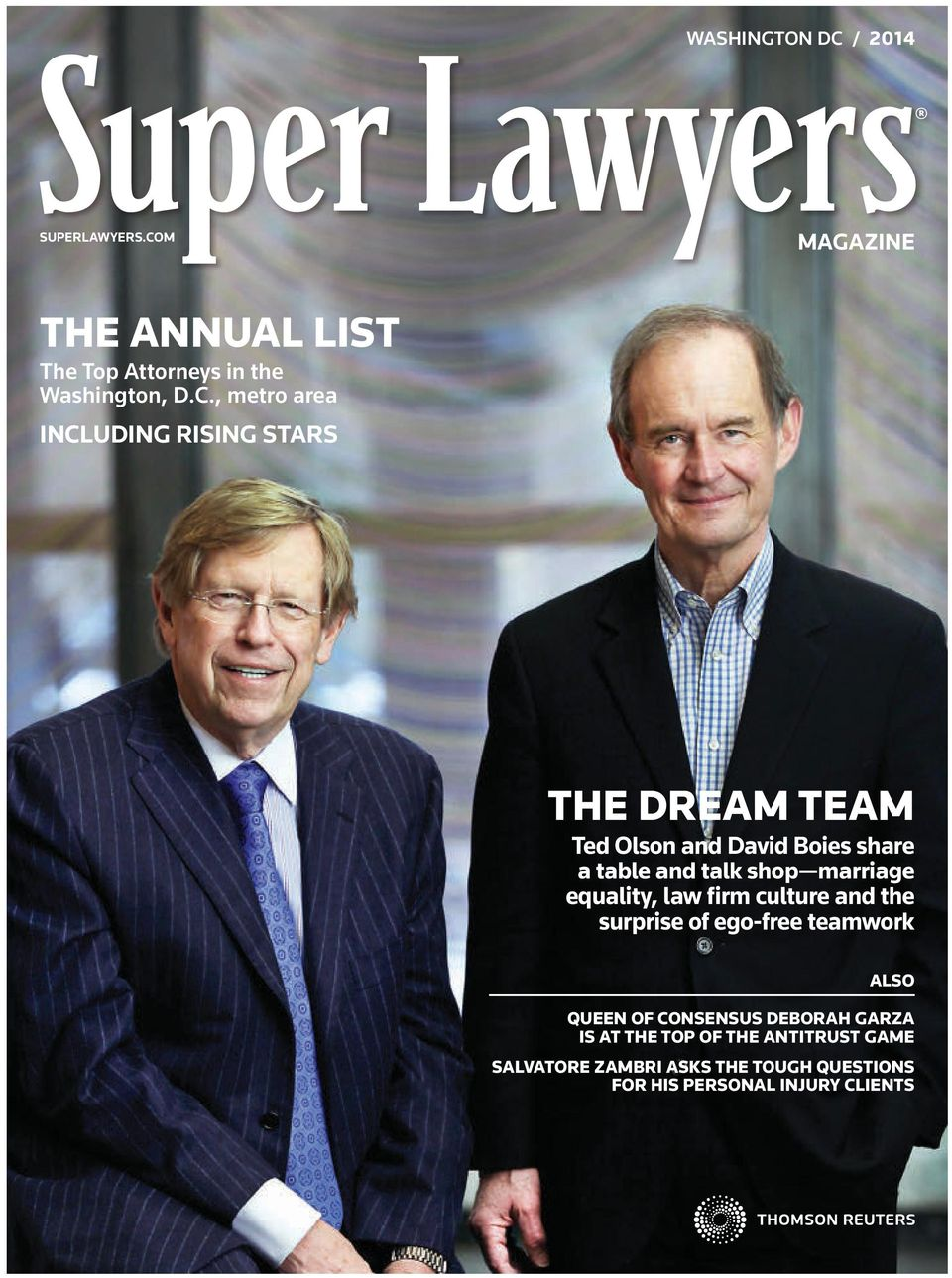 M MAGAZINE THE ANNUAL LIST The Top Attorneys in the Washington, D.C.