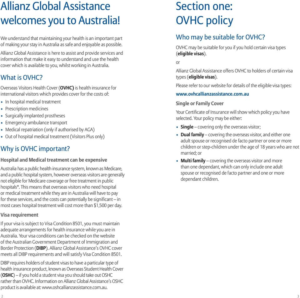 What is OVHC?