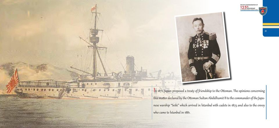 Abdülhamit II to the commander of the Japanese warship Seiki which