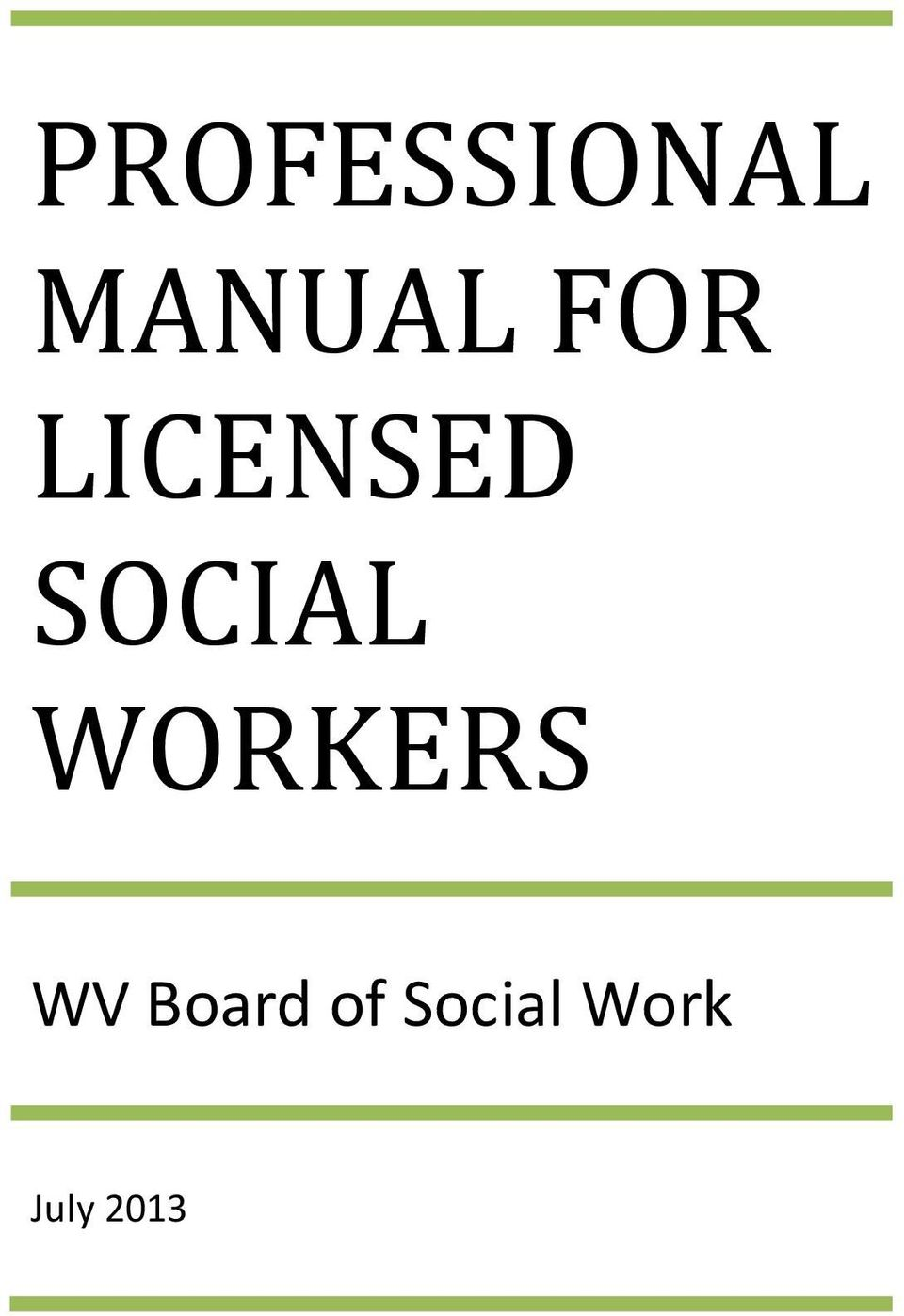 WORKERS WV Board of