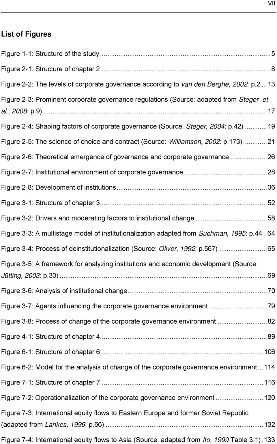 ..21 Figure 2-6: Theoretical emergence of governance and corporate governance...26 Figure 2-7: Institutional environment of corporate governance...28 Figure 2-8: Development of institutions.