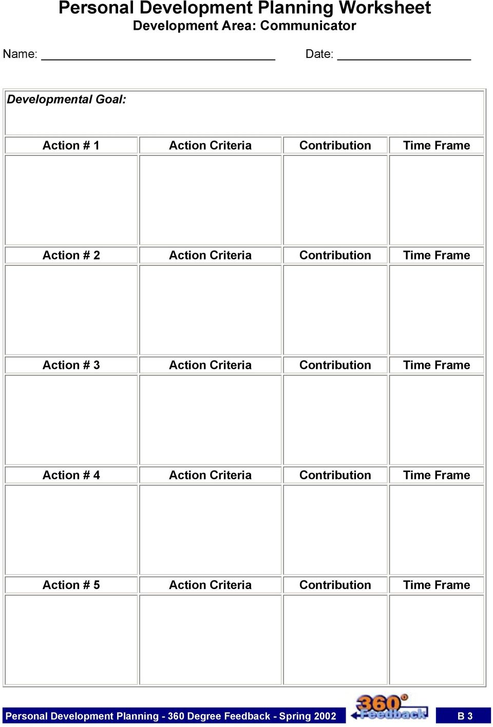 Action # 3 Action Criteria Contribution Time Frame Action # 4 Action Criteria Contribution Time Frame