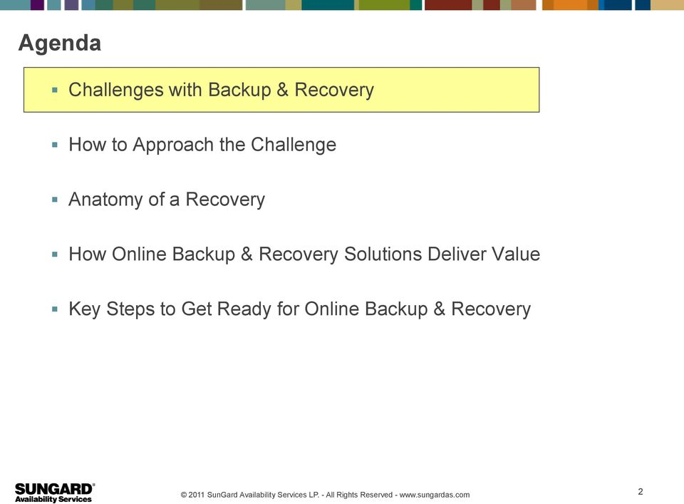 Online Backup & Recovery Solutions Deliver Value