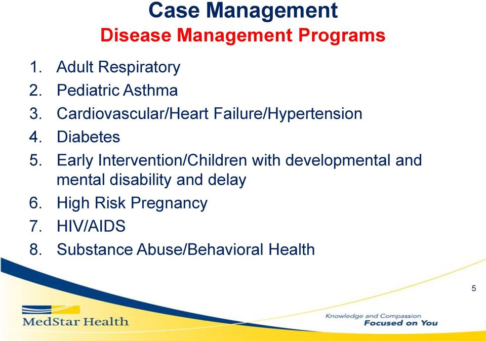 Early Intervention/Children with developmental and mental disability and