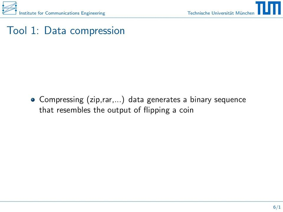 ..) data generates a binary