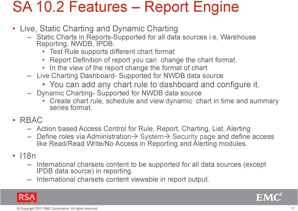 In the view of the report change the format of chart Live Charting Dashboard- Supported for NWDB data source You can add any chart rule to dashboard and configure it.