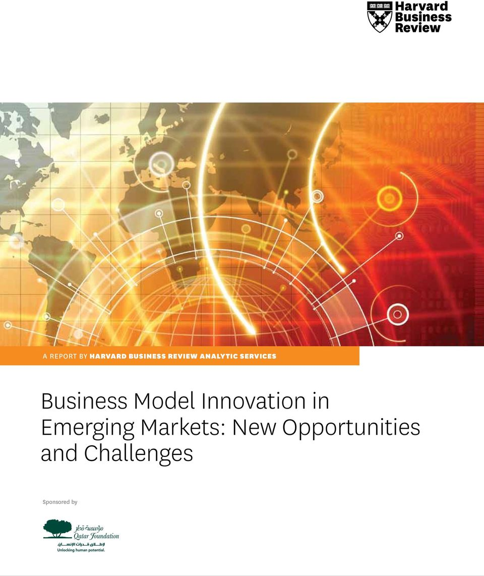 Innovation in Emerging Markets: New