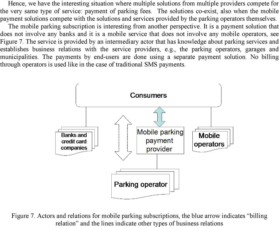 The mobile parking subscription is interesting from another perspective.