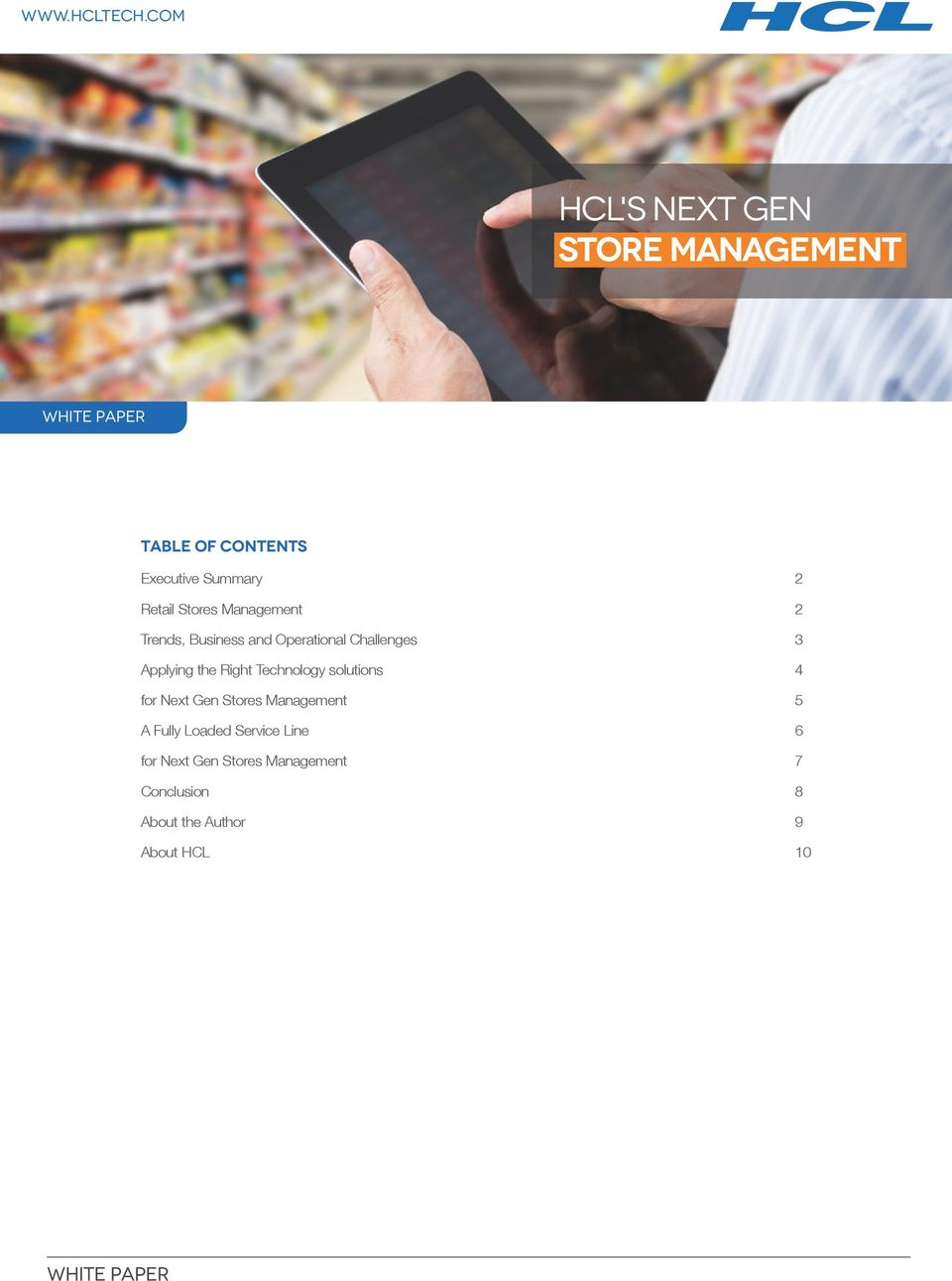 Retail Stores Management 2 Trends, Business and Operational Challenges 3 Applying the Right