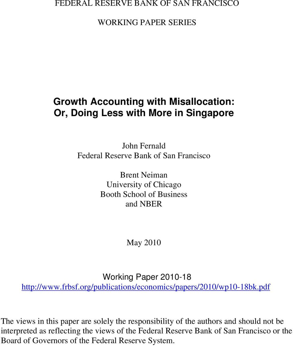 2010-18 http://www.frbsf.org/publications/economics/papers/2010/wp10-18bk.
