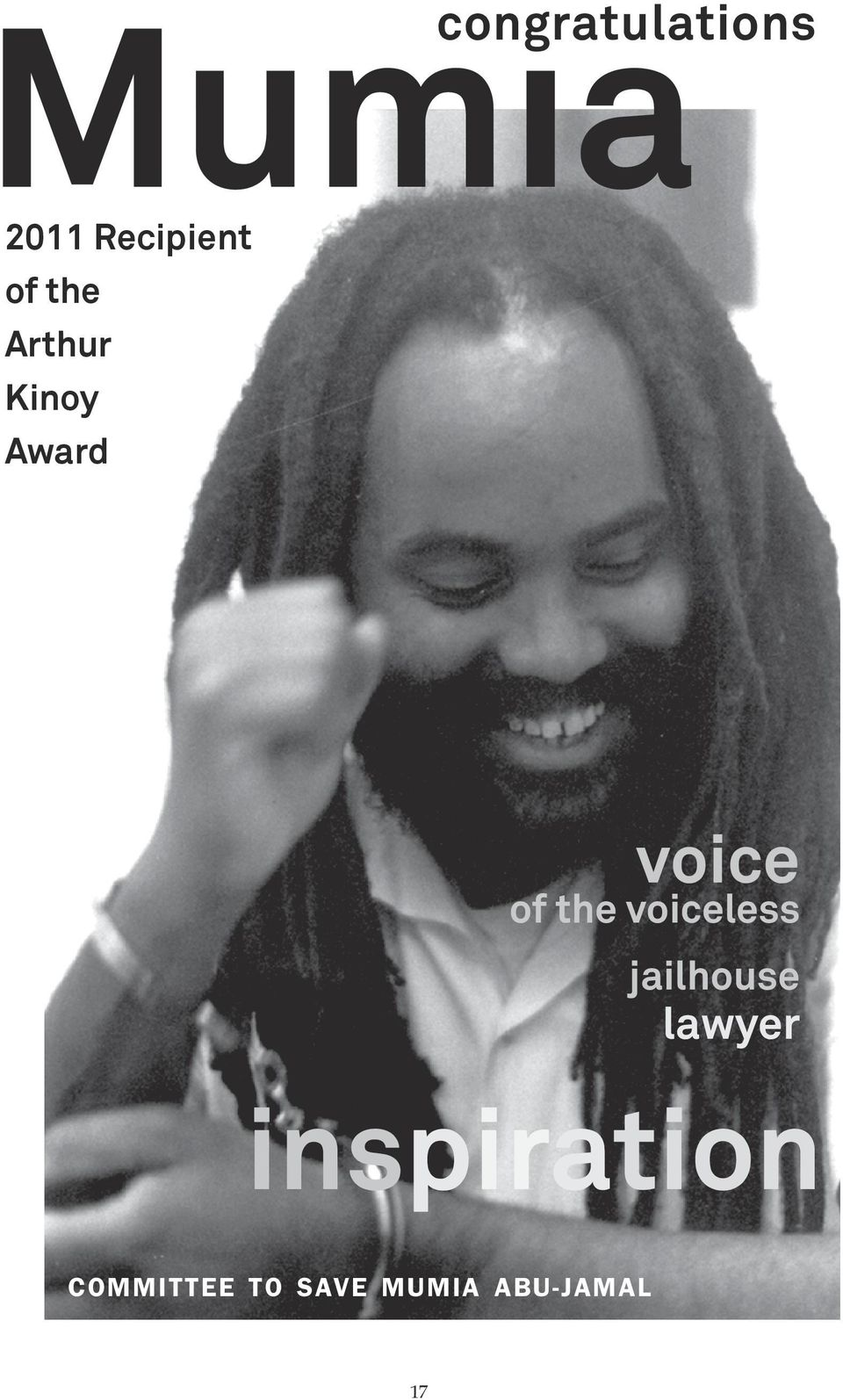 the voiceless jailhouse lawyer
