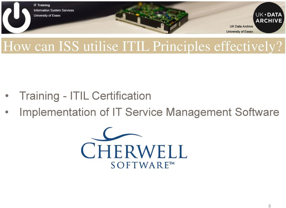 Training - ITIL Certification