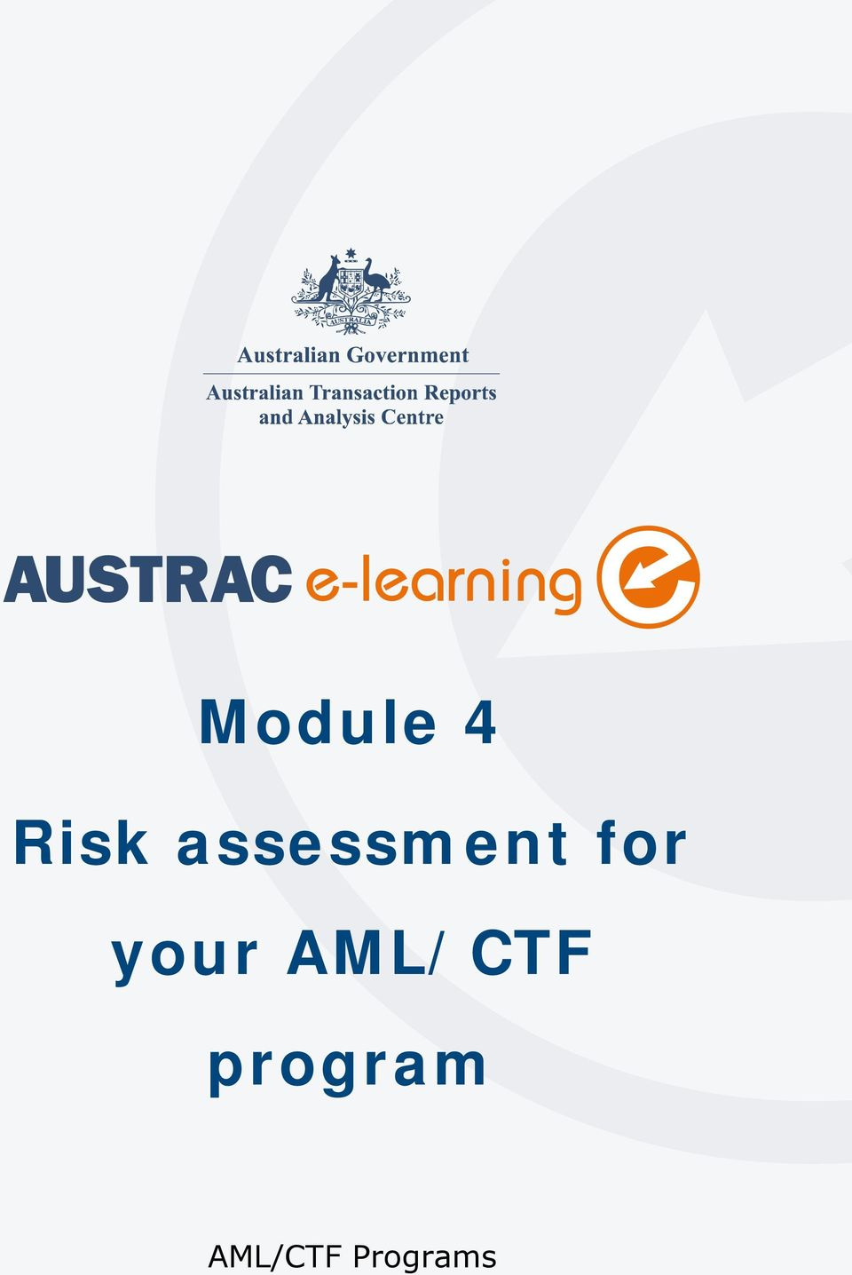 Programs Risk assessment for