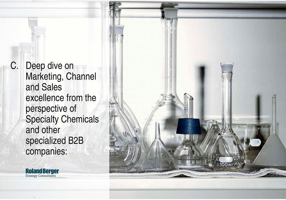 perspective of Specialty Chemicals