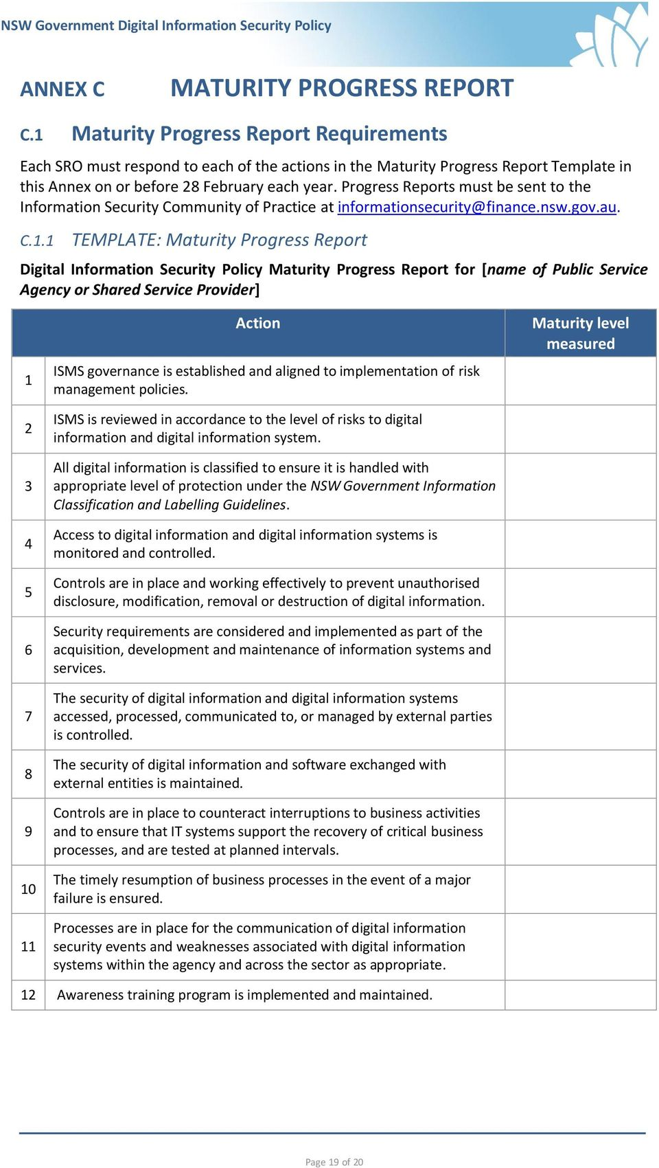 NSW Government Digital Information Security Policy - PDF