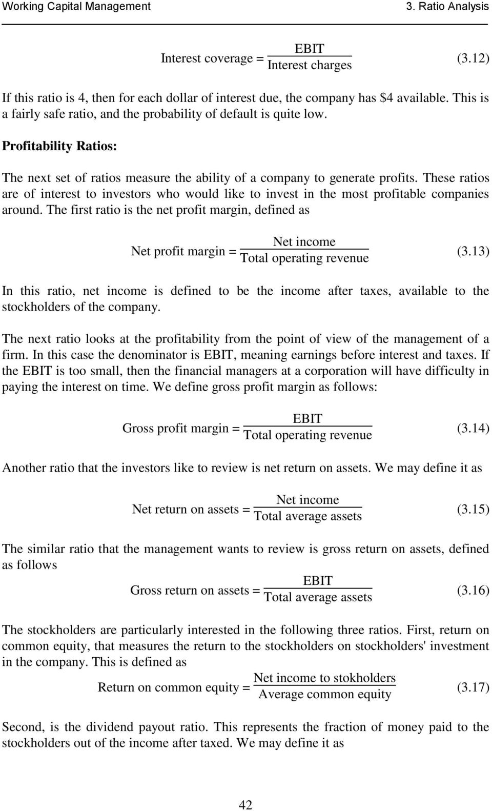 3. RATIO ANALYSIS. 3.1 Balance Sheet Model of a Firm - PDF