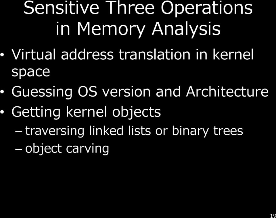 Guessing OS version and Architecture Getting kernel