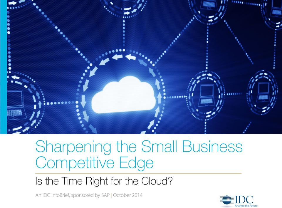 Edge An IDC InfoBrief,
