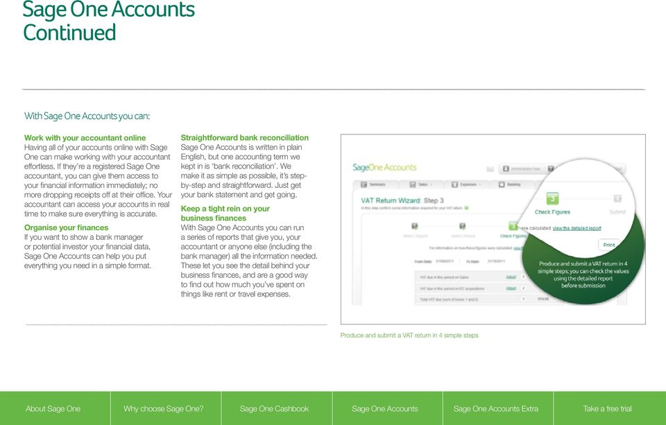 Your accountant can access your accounts in real time to make sure everything is accurate.