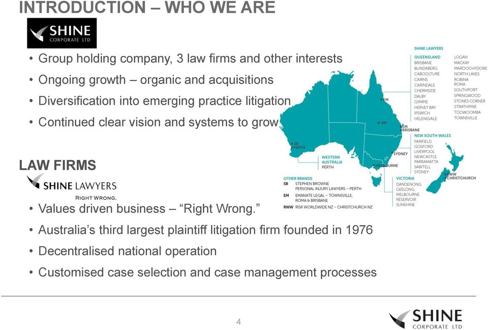 to grow LAW FIRMS Values driven business Right Wrong.