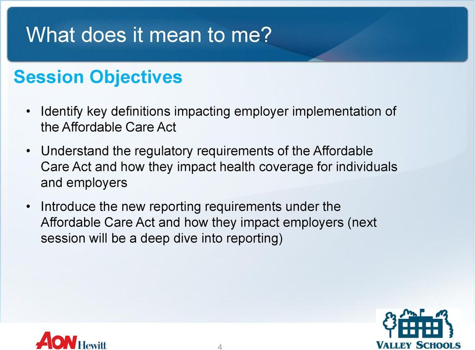 health coverage for individuals and employers Introduce the new reporting requirements under the