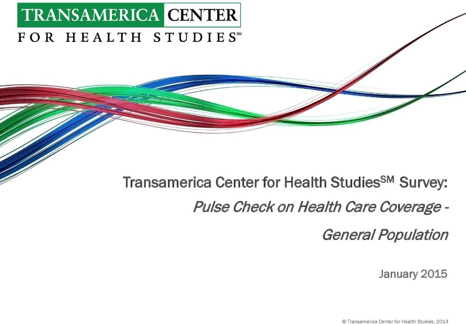 Pulse Check on Health Care