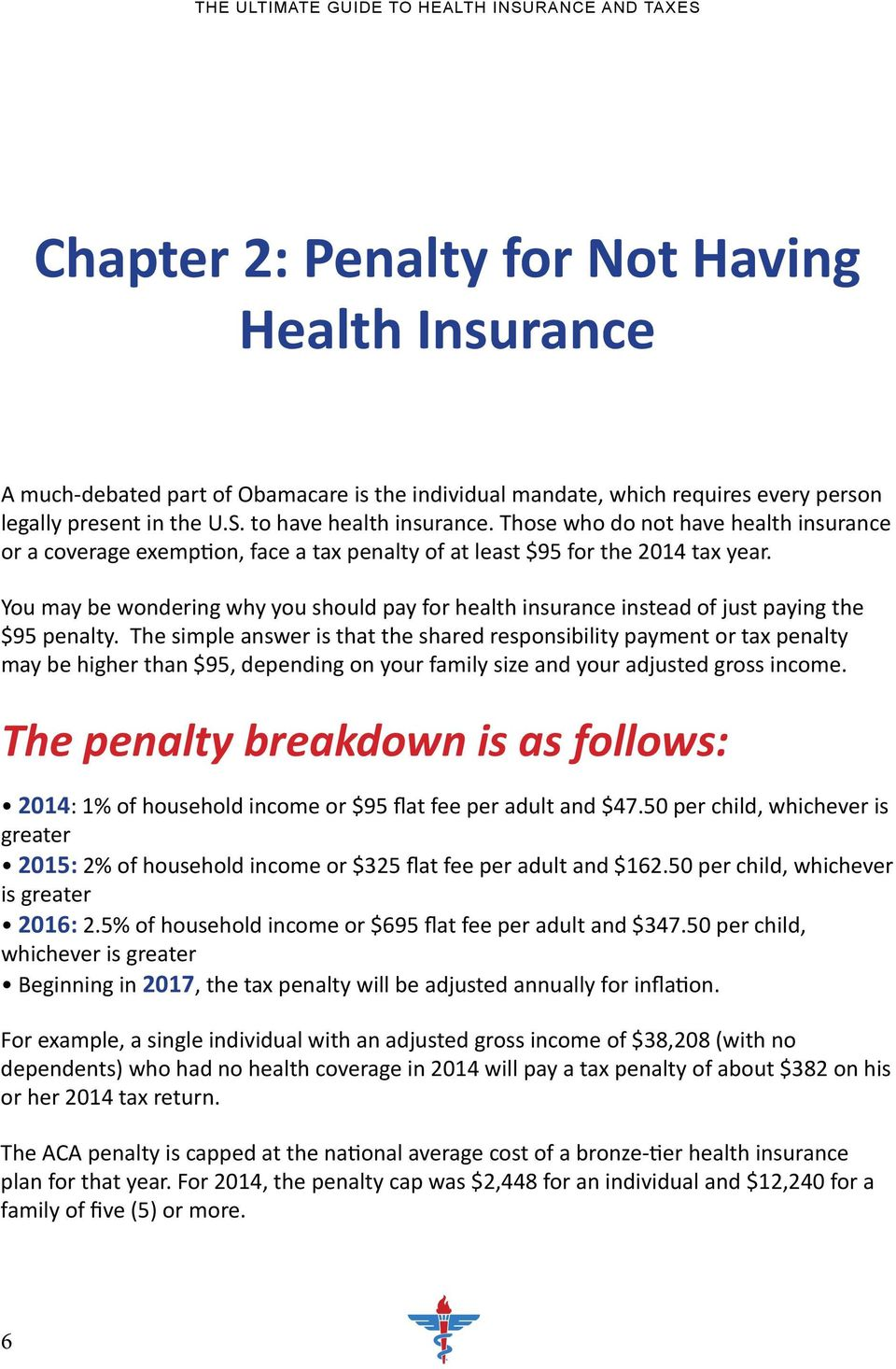You may be wondering why you should pay for health insurance instead of just paying the $95 penalty.