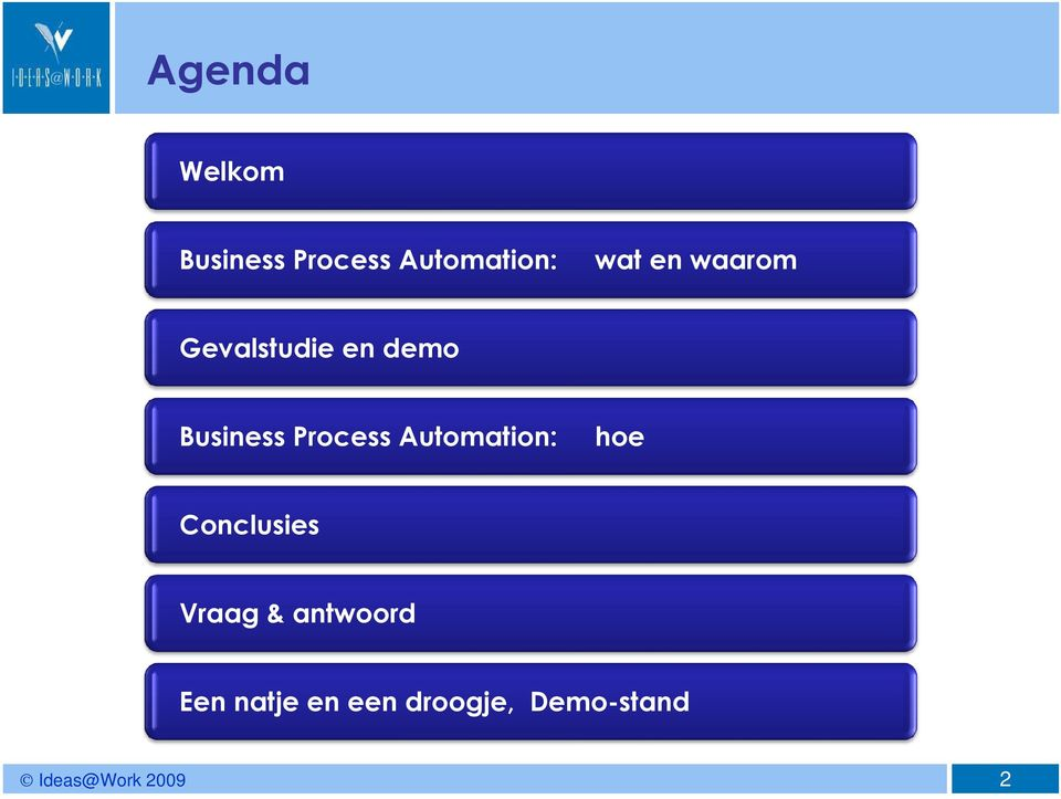Process Automation: hoe Conclusies Vraag &