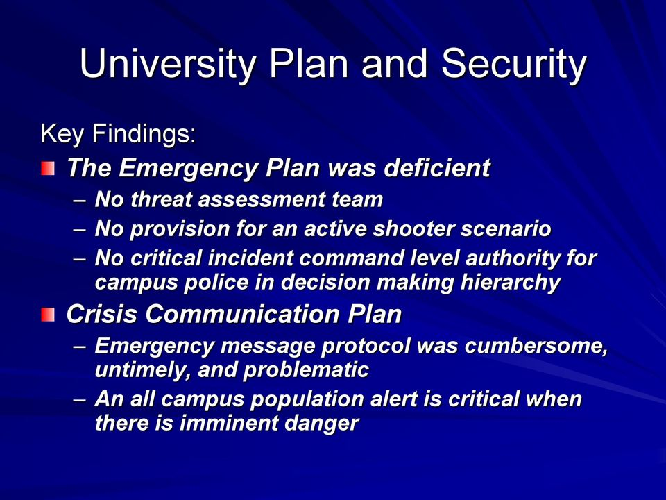 police in decision making hierarchy Crisis Communication Plan Emergency message protocol was
