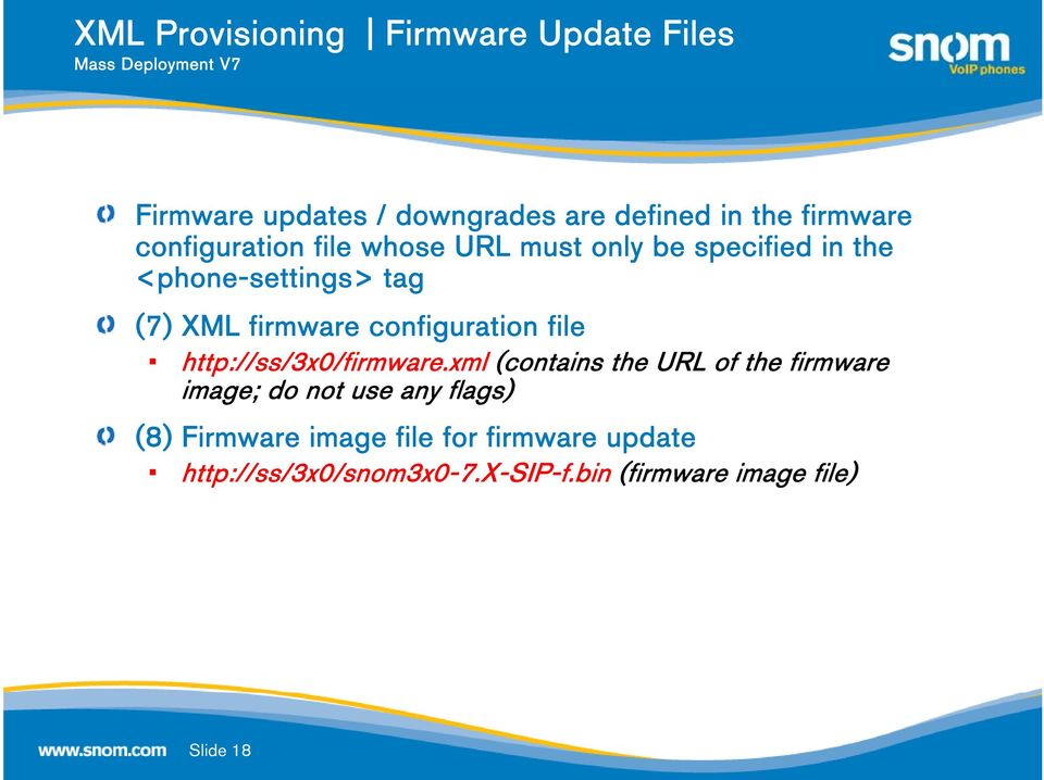 configuration file http://ss/3x0/firmware.
