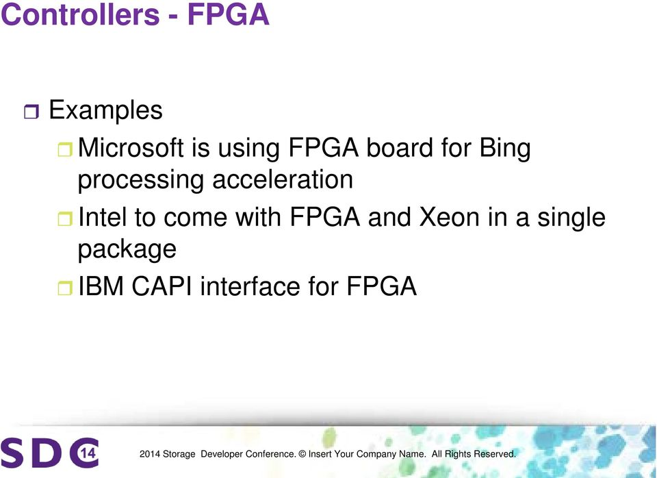 acceleration Intel to come with FPGA and