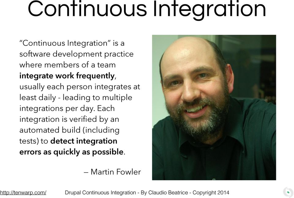 to multiple integrations per day.
