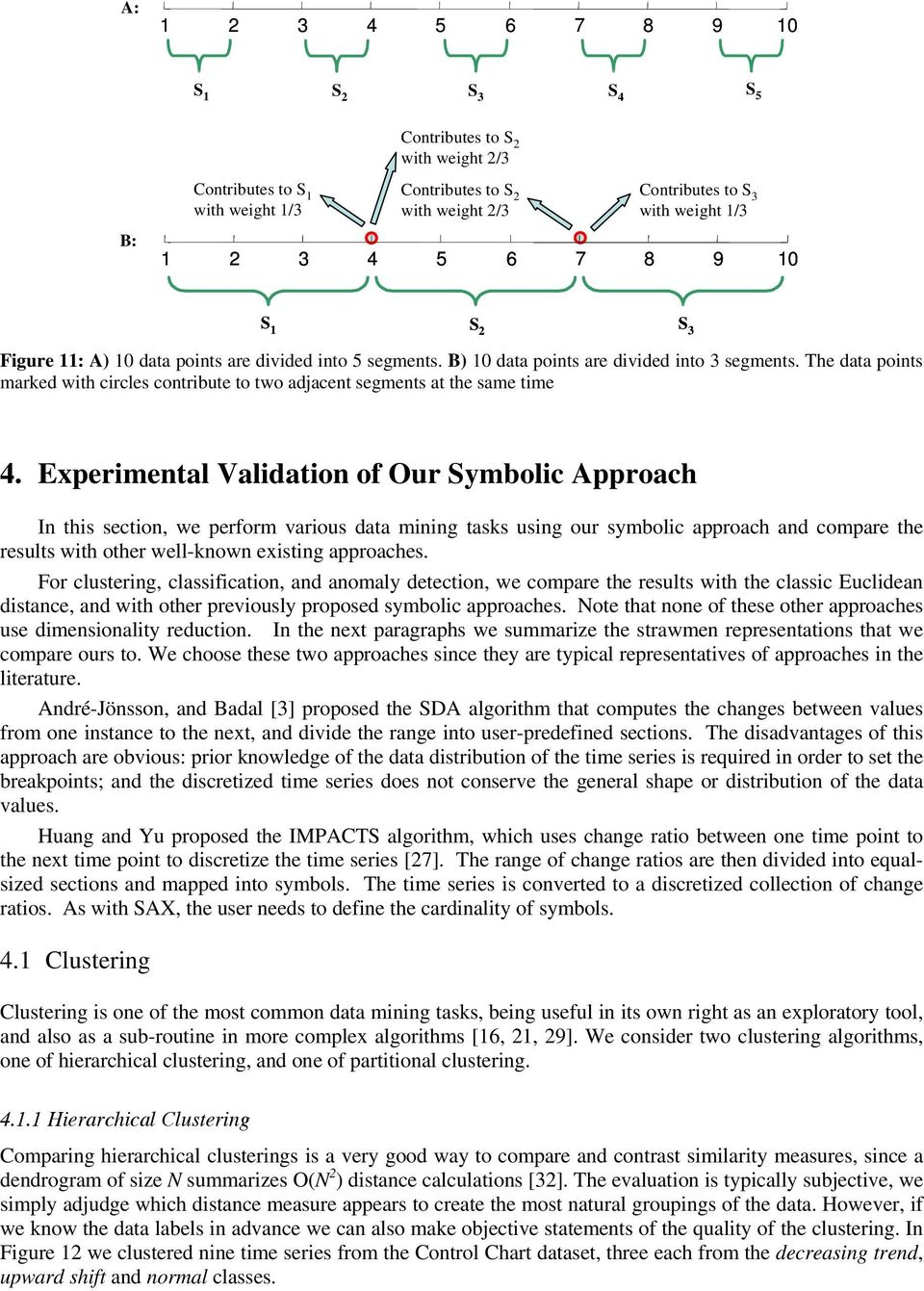 Expermetal Valdato of Our Symbol Approah I ths seto, we perform varous data mg tasks usg our symbol approah ad ompare the results wth other well-kow exstg approahes.