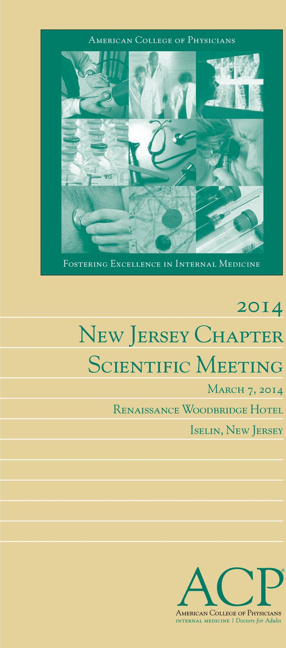 Jersey Chapter Scientific Meeting March 7,