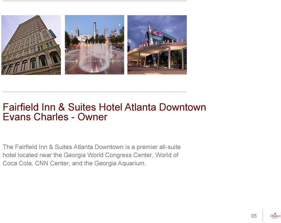 all-suite hotel located near the Georgia World Congress