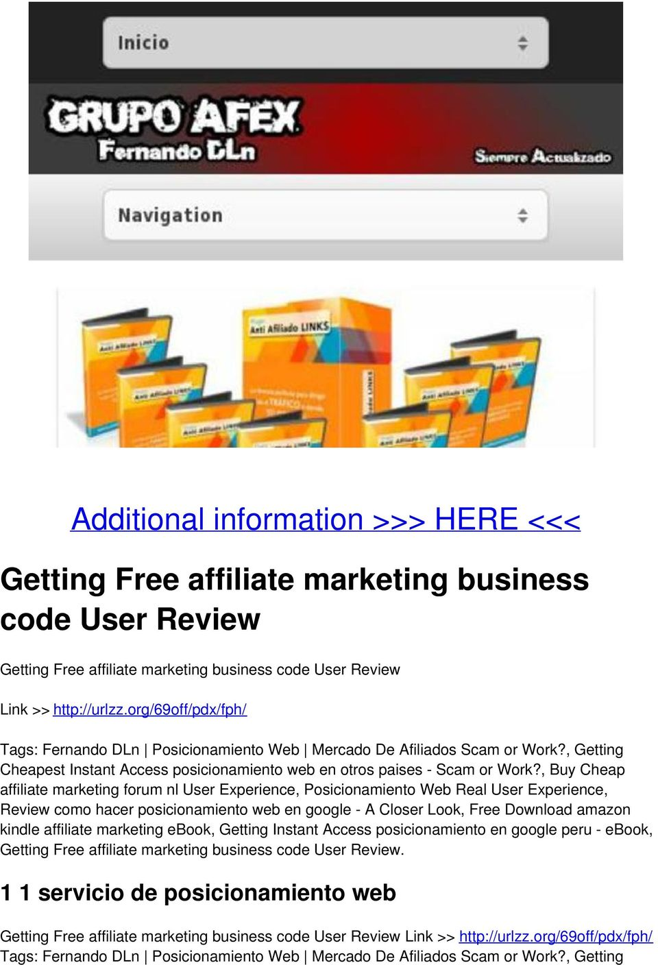, Buy Cheap affiliate marketing forum nl User Experience, Posicionamiento Web Real User Experience, Review como hacer posicionamiento web en google - A Closer Look, Free Download amazon kindle