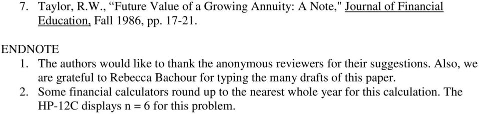 ENDNOTE 1. The authors would like to thank the anonymous reviewers for their suggestions.