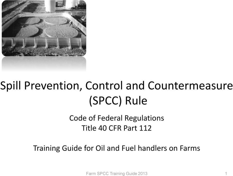 Federal Regulations Title 40 CFR Part