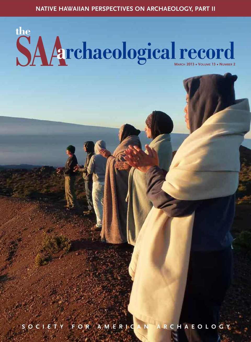 archaeological record MARCH 2013 VOLUME 13