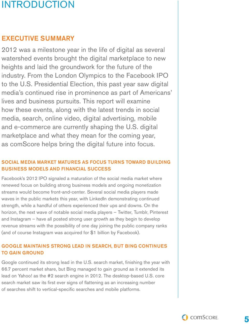 Presidential Election, this past year saw digital media s continued rise in prominence as part of Americans lives and business pursuits.