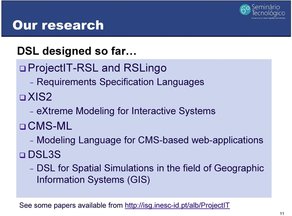 CMS-based web-applications DSL3S - DSL for Spatial Simulations in the field of Geographic